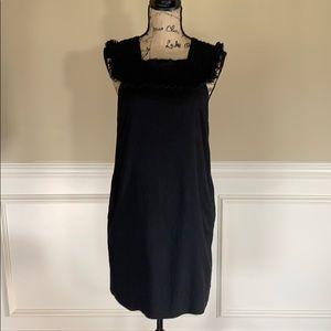 Madewell Embroidered Block Dress w Pockets